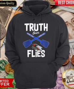 Truth Over Harris 2020 Biden 2020 Flies Hoodie