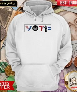 Vote For Liberty Rbg Peace Blm Equality Hoodie