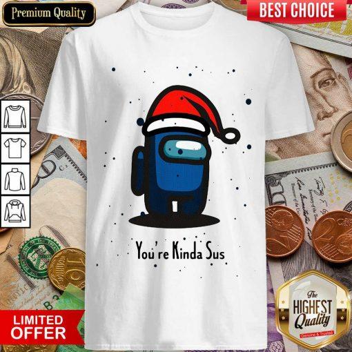 Among Us You're Kinda Sus Christmas Shirt - Design By Viewtees.com