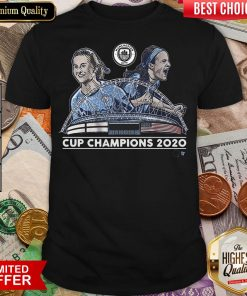 Good Lavelle And Mewis Man City 2020 Cup Champions Shirt - Design By Viewtees.com