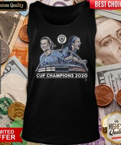 Good Lavelle And Mewis Man City 2020 Cup Champions Tank Top - Design By Viewtees.com