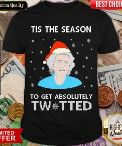Tis The Season To Get Absolutely Twatted Ugly Christmas Shirt - Design By Viewtees.com