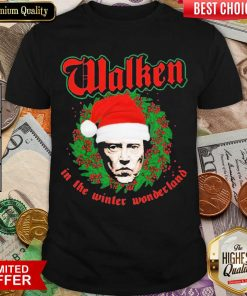 Walken In The Winter Wonderland Christopher Walken Christmas Shirt - Design By Viewtees.com