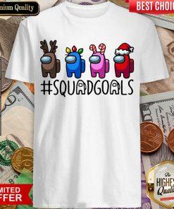 Among Us Squad Goals Christmas Shirt - Design By Viewtees.com