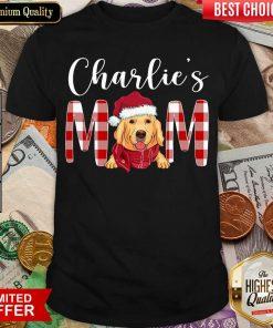 Golden Retriever Charlie's Mom Christmas Shirt - Design By Viewtees.com