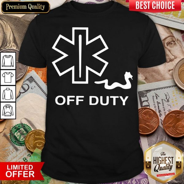 Nice Off Duty Snake Shirt- Design By Viewtees.com
