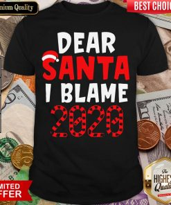 Official Dear Santa I Can Explain Christmas 2020 Shirt - Design By Viewtees.com
