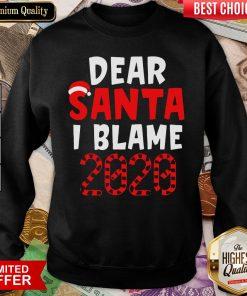 Official Dear Santa I Can Explain Christmas 2020 Sweatshirt - Design By Viewtees.com