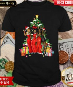 Girl Magic Merry Christmas Tree Collection Shirt - Design By Viewtees.com