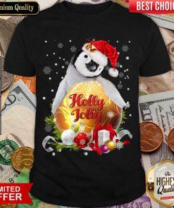 Penguin Holly Jolly Ball For You For Penguin Lover Crewneck Christmas Shirt - Design By Viewtees.com