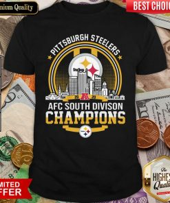 Pittsburgh Steelers 2020 Afc South Division Champions Shirt - Design By Viewtees.com