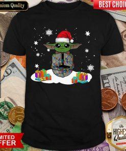 Santa Baby Yoda Merry Christmas Gift Shirt - Design By Viewtees.com