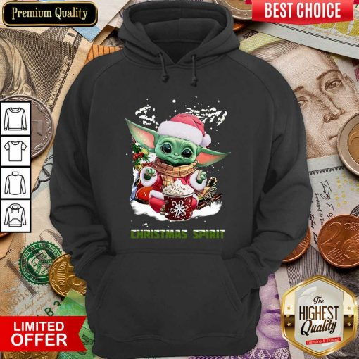 Santa Baby Yoda Christmas Spirit Hoodie - Design By Viewtees.com
