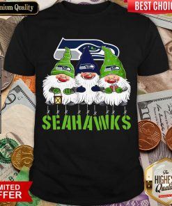 Gnomies Seattle Seahawks Christmas Shirt - Design By Viewtees.com