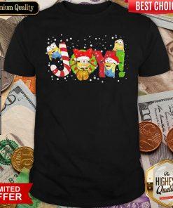 Minions Joy Christmas Shirt - Design By Viewtees.com