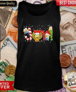 Minions Joy Christmas Tank Top - Design By Viewtees.com