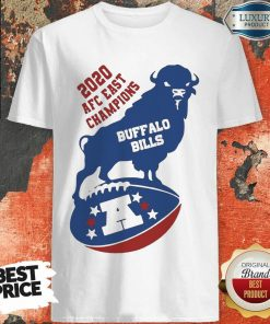 Funny 2020 AFC East Champions Buffalo Bills Football Shirt