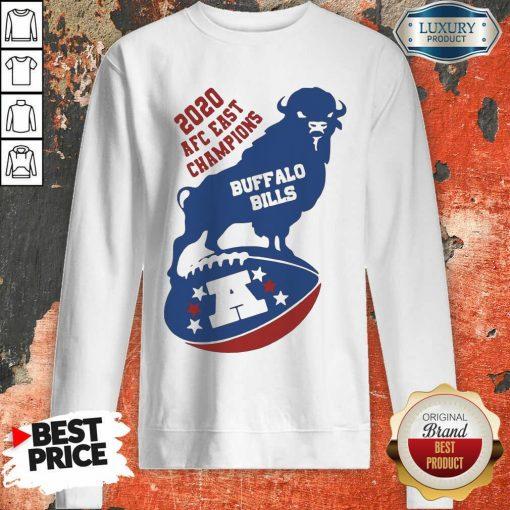 Funny 2020 AFC East Champions Buffalo Bills Football Sweatshirt