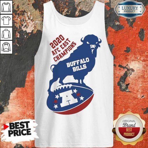 Funny 2020 AFC East Champions Buffalo Bills Football Tank Top