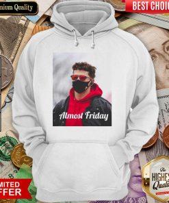 Funny Almost Friday Pregame Patrick 96 Hoodie
