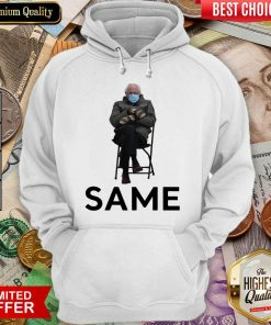 Funny Bernie Sanders Mittens Same 2021 Hoodie