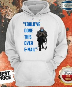 Funny Could've Done This Over E-mail Bernie Sanders Hoodie