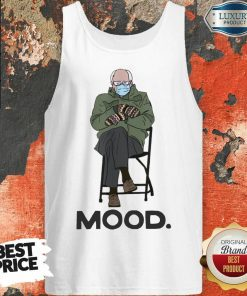 Good Bernie Sanders Mittens Mood Tank Top