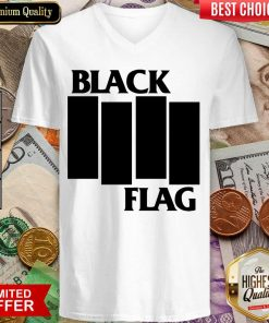 Good Black Flag Bars And Logos 55 V-neck