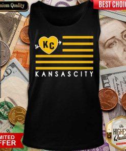 Good KC Kansas City Football Tank Top