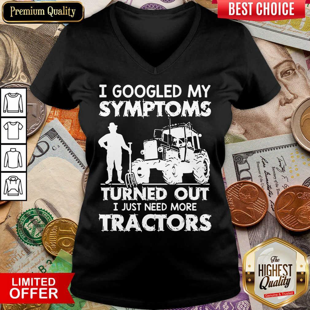 Original I Symptoms Turns Need Tractors 79 V-neck