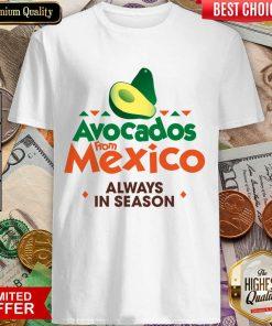 Pretty Avocados Confident From Mexico 0246 Shirt