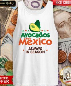 Pretty Avocados Confident From Mexico 0246 Tank Top