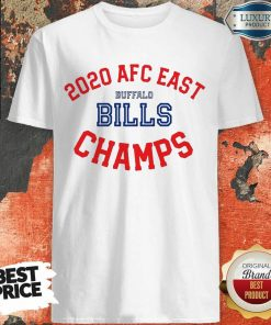 Top 2020 AFC East Buffalo Bills Champions Shirt