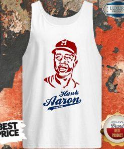 Top Hammerin Hank Aaron Tribute Tank Top