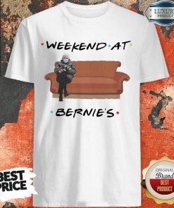 Top Weekend At Bernies Wear Mask Covid 19 Shirt