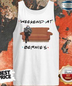 Top Weekend At Bernies Wear Mask Covid 19 Tank Top