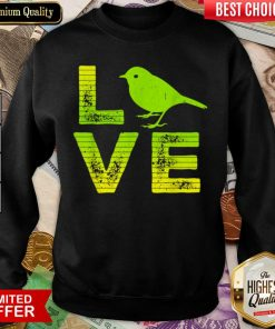 Awesome I Love Sparrows Birds Loving Boys Girls Sweatshirt