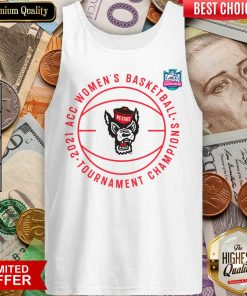 Happy ACC Womens Basketball Tournament Champions Tank Top