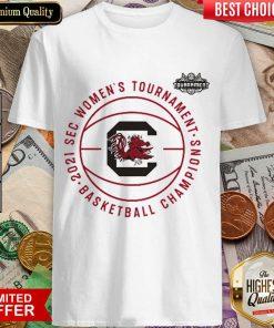 Perfect 2021 SEC Womens Basketball Champions Shirt