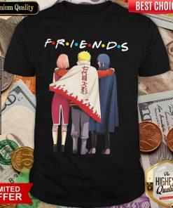 Premium Naruto Sakura And Sasuke Team 7 Friend Shirt