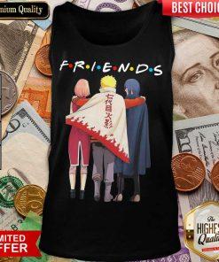Premium Naruto Sakura And Sasuke Team 7 Friend Tank Top