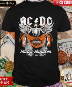 Pretty AC DC Death Motor Harley Davidson Cycles 2021 Shirt