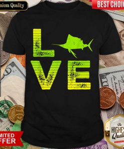 Pretty I Love Swordfish Swordfish Loving Boys Girls 9 Shirt