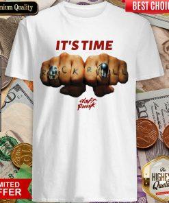 Top Daft Punk Time Baseball 4679 Shirt