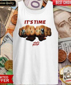Top Daft Punk Time Baseball 4679 Tank Top