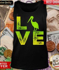 Top I Love Pelicans Water birds Pelican Loving Boys Girls Tank Top