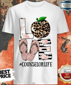 Apple Leopard Love Counselor Life Shirt