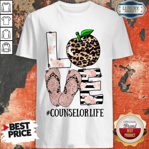 Apple Leopard Love Counselor Life Shirt