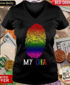 Fantastic My DNA LBGT V-neck