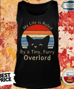 My Life Is Ruled By A Tiny Overlord Vintage Tank Top